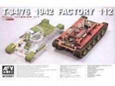 AFV Club - T-34/76 1942 Factory 112, 1/35, 35S51