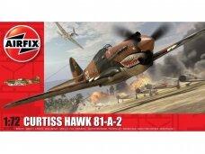 Airfix - Curtiss Hawk 81-A-2, 1/72, Mastelis: 1/72, 01003