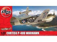 Airfix - Curtiss P-40B Warhawk, 1/72, Mastelis: 1/72, 01003B