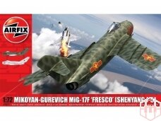Airfix - Mikoyan-Gurevich MiG-17 Fresco, Mastelis: 1/72, 03091