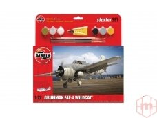 Airfix - Grumman F4F-4 Wildcat Model set, Scale: 1/72, 55214