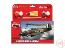 Airfix - Hawker Hurricane MkI Model set, Scale: 1/72, 55111