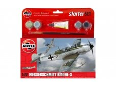 Airfix - Messerschmitt Bf109E-3 Model set, Scale: 1/72, 55106