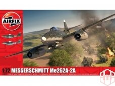 Airfix - Messerschmitt ME262a-2A, Mastelis: 1/72, 03090