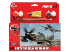 Airfix - P-51D Mustang Model set, Scale: 1/72, 55107