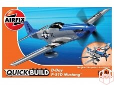 Airfix - QUICK BUILD D-Day P-51D Mustang, J6046