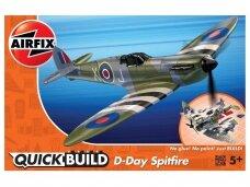 Airfix - QUICK BUILD D-Day Spitfire, J6045