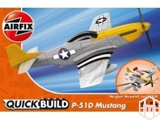 Airfix - QUICK BUILD P-51D Mustang, J6016