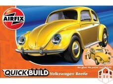 Airfix - QUICKBUILD VW Beetle yellow, J6023
