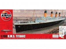 Airfix - RMS Titanic dovanų komplektas, Mastelis: 1/700, 50164
