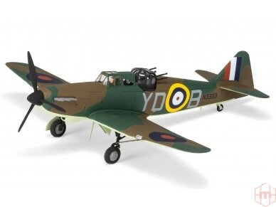 Airfix - Boulton Paul Defiant Mk.I dovanų komplektas, Mastelis: 1/72, 55213 2