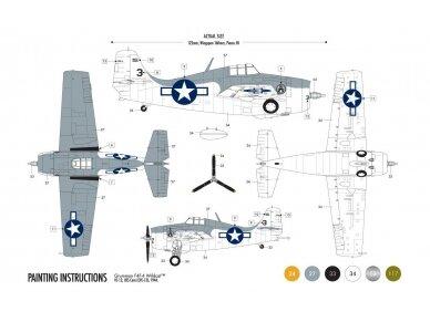 Airfix - Grumman F4F-4 Wildcat Model set, Scale: 1/72, 55214 2