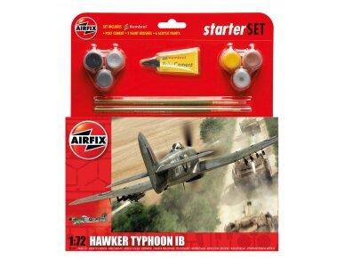 Airfix - Hawker Typhoon Ib dovanų komplektas, Mastelis: 1/72, 55208