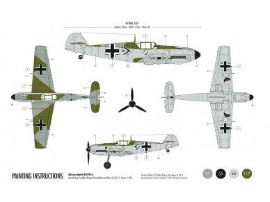 Airfix - Messerschmitt Bf109E-3 Model set, Scale: 1/72, 55106 2