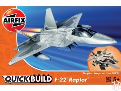 Airfix - QUICK BUILD F22 Raptor, J6005