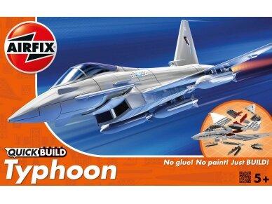 Airfix - QUICK BUILD Eurofighter Typhoon, J6002
