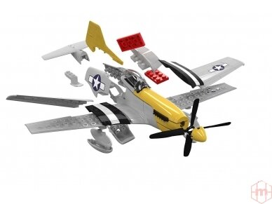 Airfix - QUICK BUILD P-51D Mustang, J6016 2