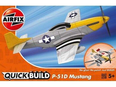 Airfix - QUICK BUILD P-51D Mustang, J6016