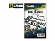 AMMO MIG - Tiger tool clamps, Mastelis: 1/35, 8080