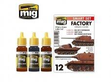 AMMO MIG - GERMAN FACTORY COLORS. AMIG7142