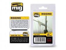 AMMO MIG - RIGGING - SUPER FINE 0,01 mm. AMIG8016