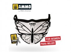 """AMMO MIG - AMMO for Life """"Butterfly"""" Face Mask. AMIG8074"""