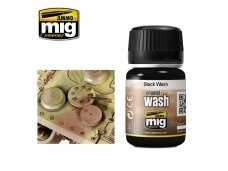 AMMO MIG - BLACK WASH, 35ml, 1011