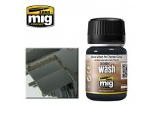 AMMO MIG - BLUE WASH FOR PANZER GREY, 35ml, 1006
