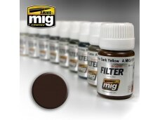 AMMO MIG - BROWN FOR DARK YELLOW, 35ml, 1511