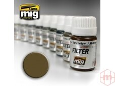 AMMO MIG - BROWN FOR DESERT YELLOW, 35ml, 1504