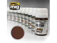 AMMO MIG - BROWN FOR WHITE, 35ml, 1500