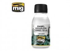 AMMO MIG - ENAMEL ODOURLESS THINNER (100 ml). AMIG2019