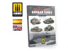 AMMO MIG - How to Paint Early WWII German Tanks 1936 - FEB 1943 (Multilingual), AMIG6037