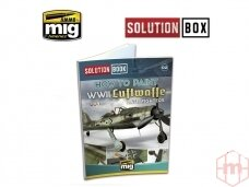 AMMO MIG - WWII LUFTWAFFE LATE FIGHTERS SOLUTION BOOK (Multilingual), AMIG6502