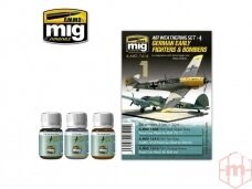 AMMO MIG - GERMAN EARLY FIGHTERS AND BOMBERS. AMIG7414