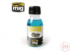 AMMO MIG - METALLIC TRACKS BURNISHING FLUID, 100ml. AMIG2020