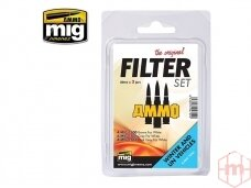 AMMO MIG - FILTER SET FOR WINTER AND UN VEHICLES. AMIG7450