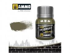 AMMO MIG - DRYBRUSH Medium Olive Green, 40ml, 0609