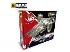 AMMO MIG - SUPER PACK METALLICS. AMIG7809