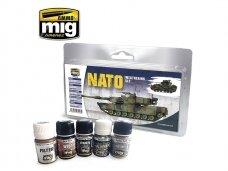 AMMO MIG - NATO WEATHERING SET. AMIG7446