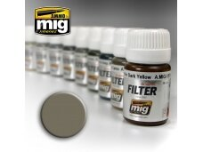 AMMO MIG - GREY FOR YELLOW SAND, 35ml, 1505