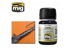 AMMO MIG - GUN METAL, 35ml, 3009