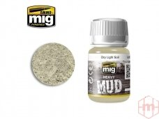 AMMO MIG - DRY LIGHT SOIL, 35ml. AMIG1700