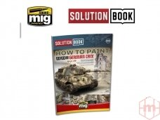 AMMO MIG - SOLUTION BOOK. HOW TO PAINT WWII GERMAN LATE (Multilingual), AMIG6503