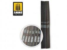 AMMO MIG - Įvairaus šiurkštumo šlifavimo lazdelės (komplektas). AMIG8568