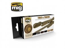 AMMO MIG - TIRES AND TRACKS. AMIG7105