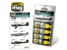 AMMO MIG - LUFTWAFFE WWII EARLY COLORS. AMIG7210