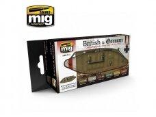 AMMO MIG - I WW BRITISH & GERMAN COLORS. AMIG7111