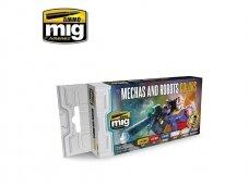 AMMO MIG - MECHAS & ROBOTS COLORS. AMIG7127