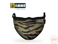 AMMO MIG - Tiger Camo AMMO Face Mask. AMIG8069